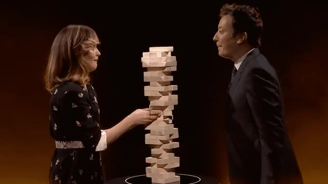 Watch and share Jimmy Fallon GIFs and Rose Byrne GIFs by Reactions on Gfycat