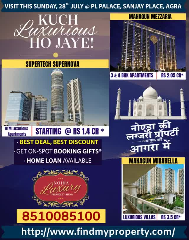 Watch and share Luxurious Apartments In Noida GIFs on Gfycat