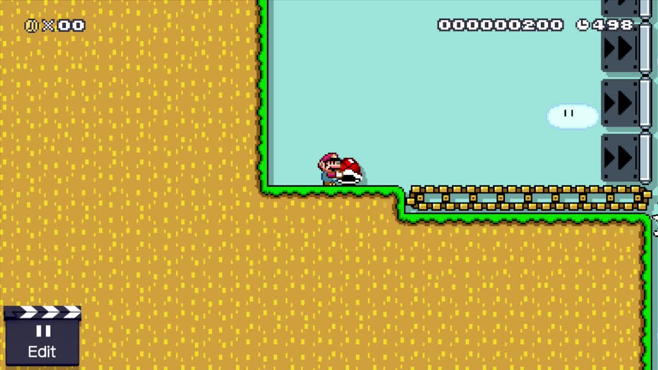 MarioMaker, mariomaker, Interesting Shell Jump 2 GIFs