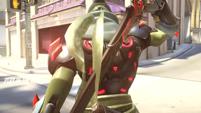 Watch Enemy Ana Accepts Death GIF by DahooksB YT (@dahooksb_yt) on Gfycat. Discover more Genji, ana, dragonblade, overwatch, play of the game GIFs on Gfycat