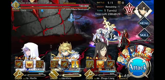 Watch and share Fate GO 2018-12-21-19-11-32 GIFs on Gfycat