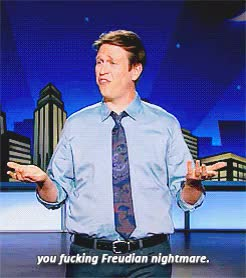 Watch and share Pete Holmes GIFs and Tphs GIFs on Gfycat