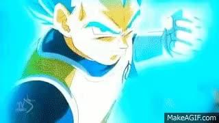 Watch and share Vegeta Super Saiyan God SS Vs Golden Frieza Full Fight English Dubbed GIFs on Gfycat