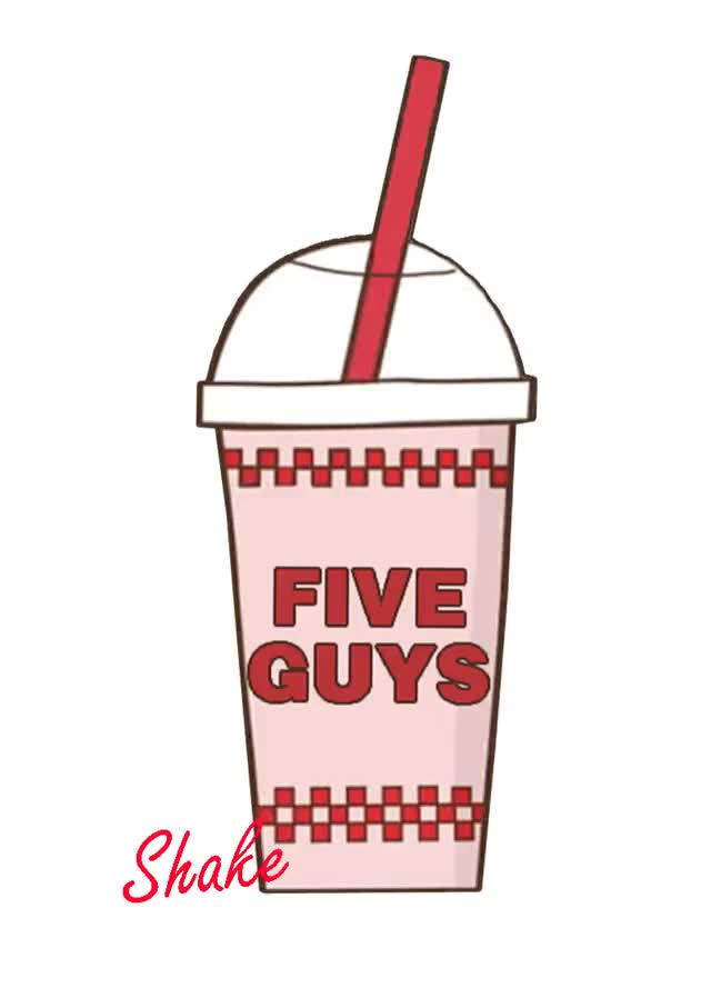 Watch and share Five Guys GIFs and Milkshake GIFs by Ricky Bobby on Gfycat