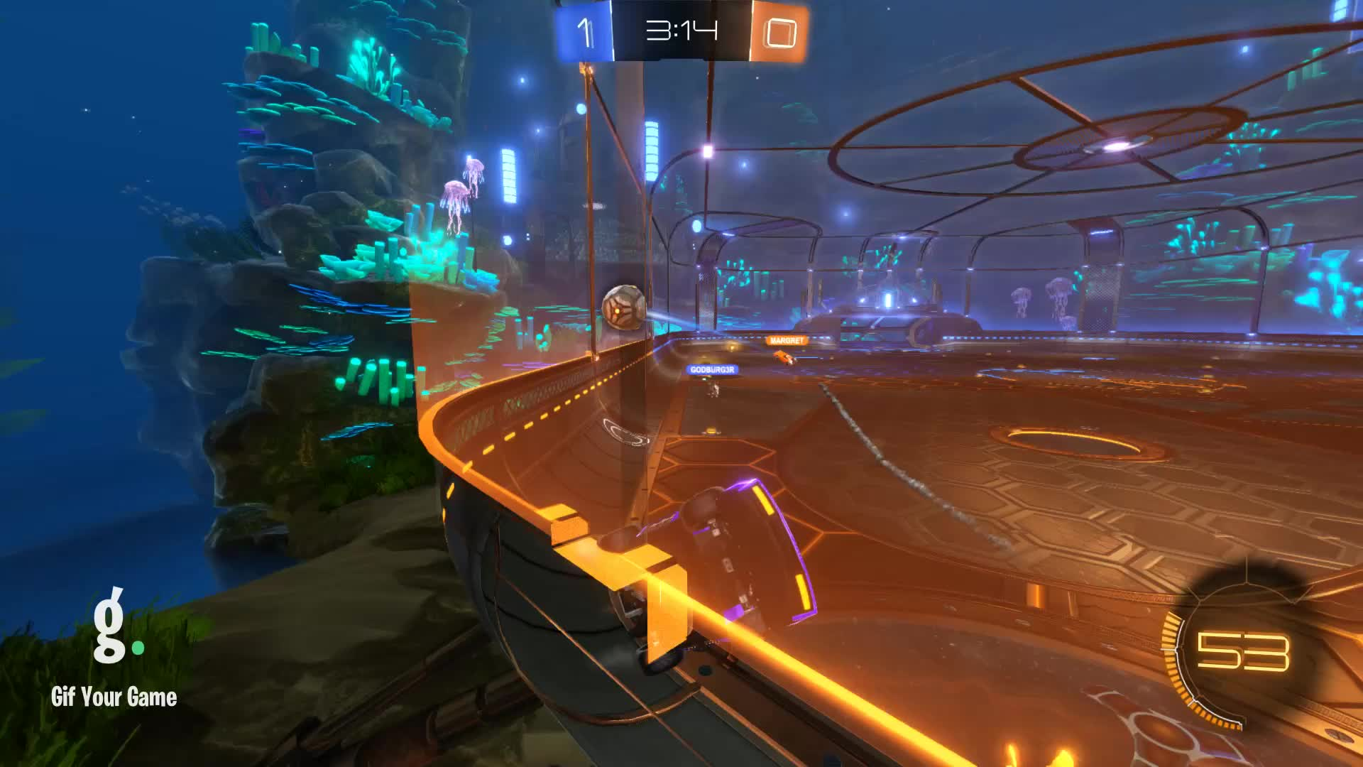 Assist, Gif Your Game, GifYourGame, Rocket League, RocketLeague, SwolSquirrel, Assist 2: SwolSquirrel GIFs