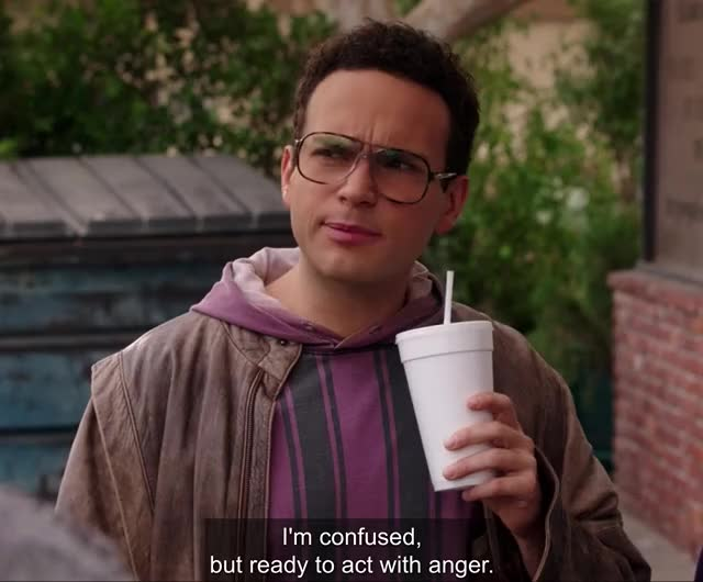 Watch and share Goldbergs GIFs and Confused GIFs by Huh? on Gfycat