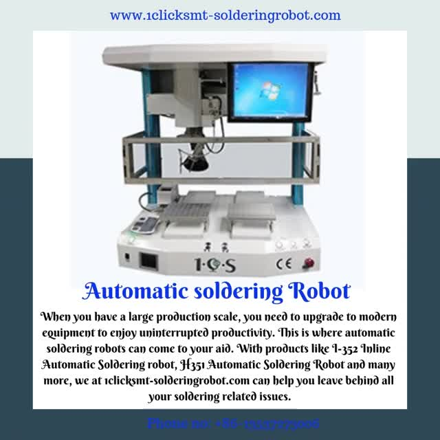 Watch and share Automatic Soldering Robot GIFs on Gfycat