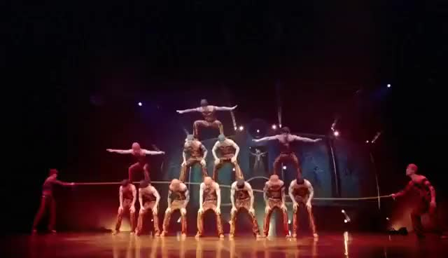 Watch and share Cirque Du Soleil DRALION GIFs on Gfycat