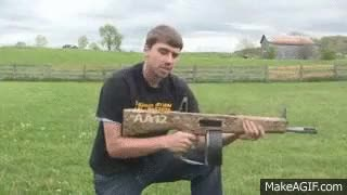 Watch AA12 full auto shotgun with almost no recoil (cdn.makeagif.com) GIF on Gfycat. Discover more related GIFs on Gfycat