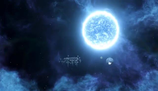 Stellaris - Enigmatic Fortress Mechanics GIFs