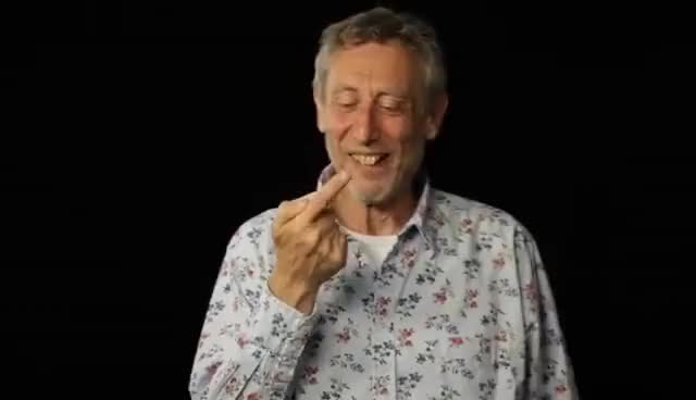 Watch and share Chocolate Cake - Michael Rosen GIFs on Gfycat