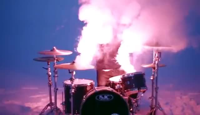 bring me the horizon, oliver skykes, shadow moses, trippy, Shadow Moses Drums GIFs