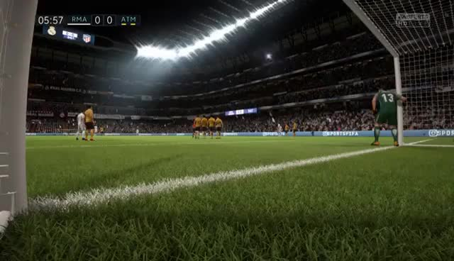 Watch and share FIFA 18 - Cristiano Ronaldo Amazing Free Kick (DEMO) GIFs on Gfycat