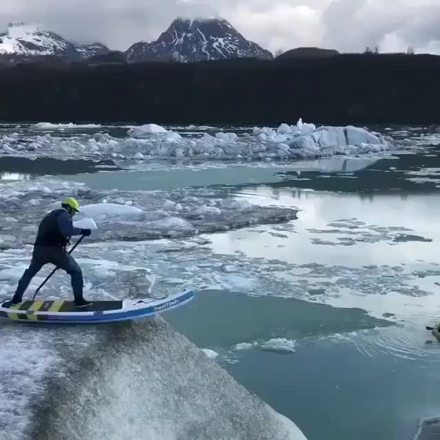 Watch and share Iceberg Skating GIFs by Jackson3OH3 on Gfycat