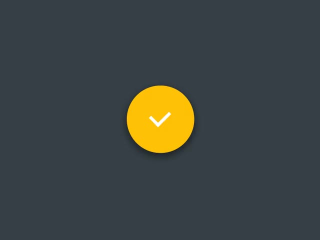 Watch Material accept/cancel Animation GIF on Gfycat. Discover more related GIFs on Gfycat