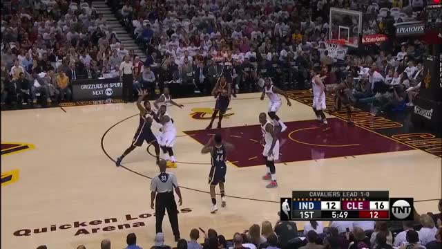 Watch and share Indiana Pacers - #PlayoffPaulGeorge GIFs on Gfycat