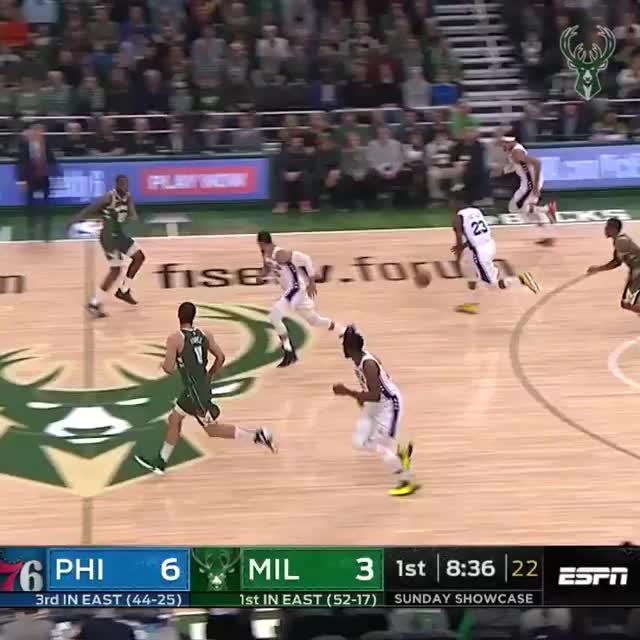 Watch and share Philadelphia 76ers GIFs and Milwaukee Bucks GIFs on Gfycat