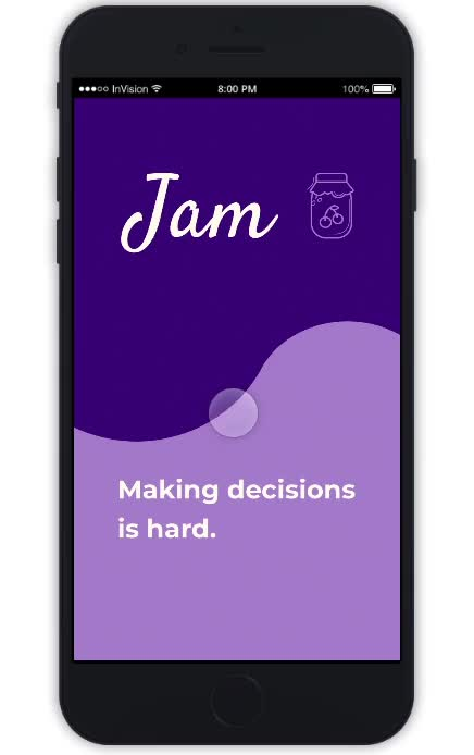 Watch and share Jam: A Decision-Making App GIFs on Gfycat