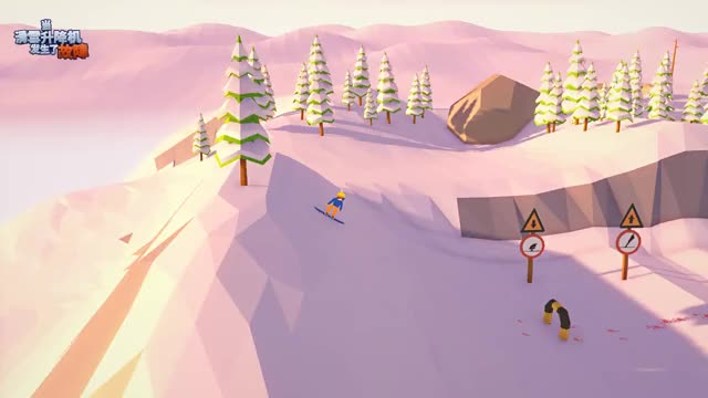 Watch and share SKI SCHOOL By Doura朵朵, £0 Level Failed GIFs on Gfycat