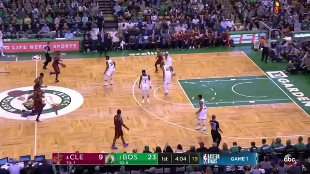 Watch Celtics Post Double Re-Switch (2018 ECF-G1) GIF by Remembering 0416 (@louisekarl79) on Gfycat. Discover more related GIFs on Gfycat