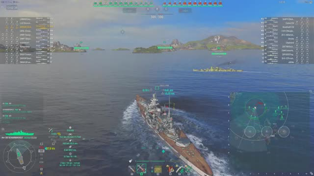 Watch and share World Of Warships 2018.07.29 - 13.43.24.05.DVRTrim GIFs by humblehominid on Gfycat