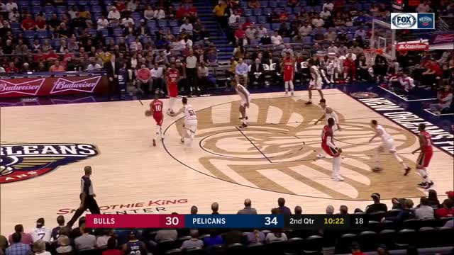 Watch NBA-2018.11.07 CHI@NOP GIF on Gfycat. Discover more Chicago Bulls, New Orleans Pelicans, basketball GIFs on Gfycat