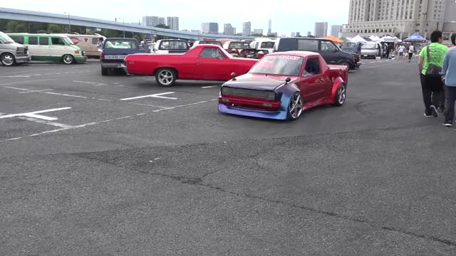 Watch Hot rodding in Tokyo! MOONEYES Street Car Nationals 2017 GIF on Gfycat. Discover more hot rod, hot rods, tokyo GIFs on Gfycat