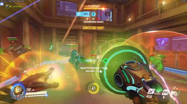 Watch and share Lijang Tower GIFs and Overwatch GIFs by odusei on Gfycat