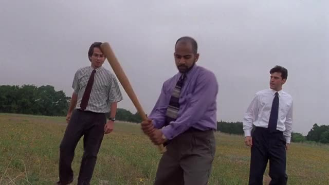 Watch and share Office Space GIFs and Destroying GIFs by MikeyMo on Gfycat