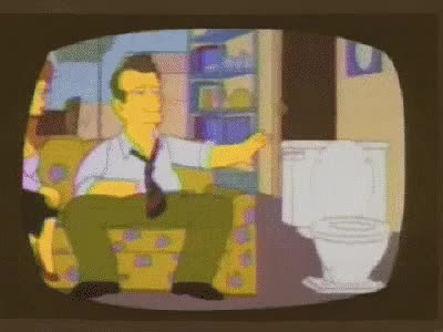 Watch and share Al Bundy Flushing Toilet GIFs on Gfycat