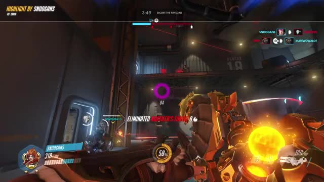Watch and share Highlight GIFs and Overwatch GIFs by twitch.tv/snoogans__ on Gfycat