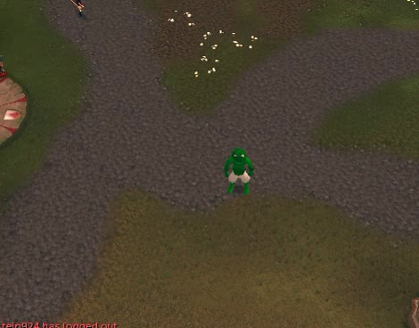 Jagex tried to introduce mounts, it went horribly wrong (reddit) GIF