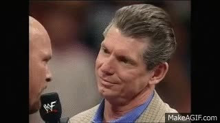 "Watch ""Stone Cold"" Steve Austin Sells Out? GIF on Gfycat. Discover more vince mcmahon GIFs on Gfycat"