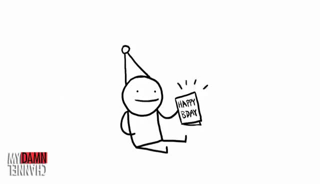 Watch and share Birthday GIFs and Card GIFs on Gfycat