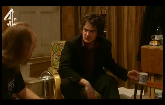 Watch and share Black Books The Cleaner GIFs on Gfycat