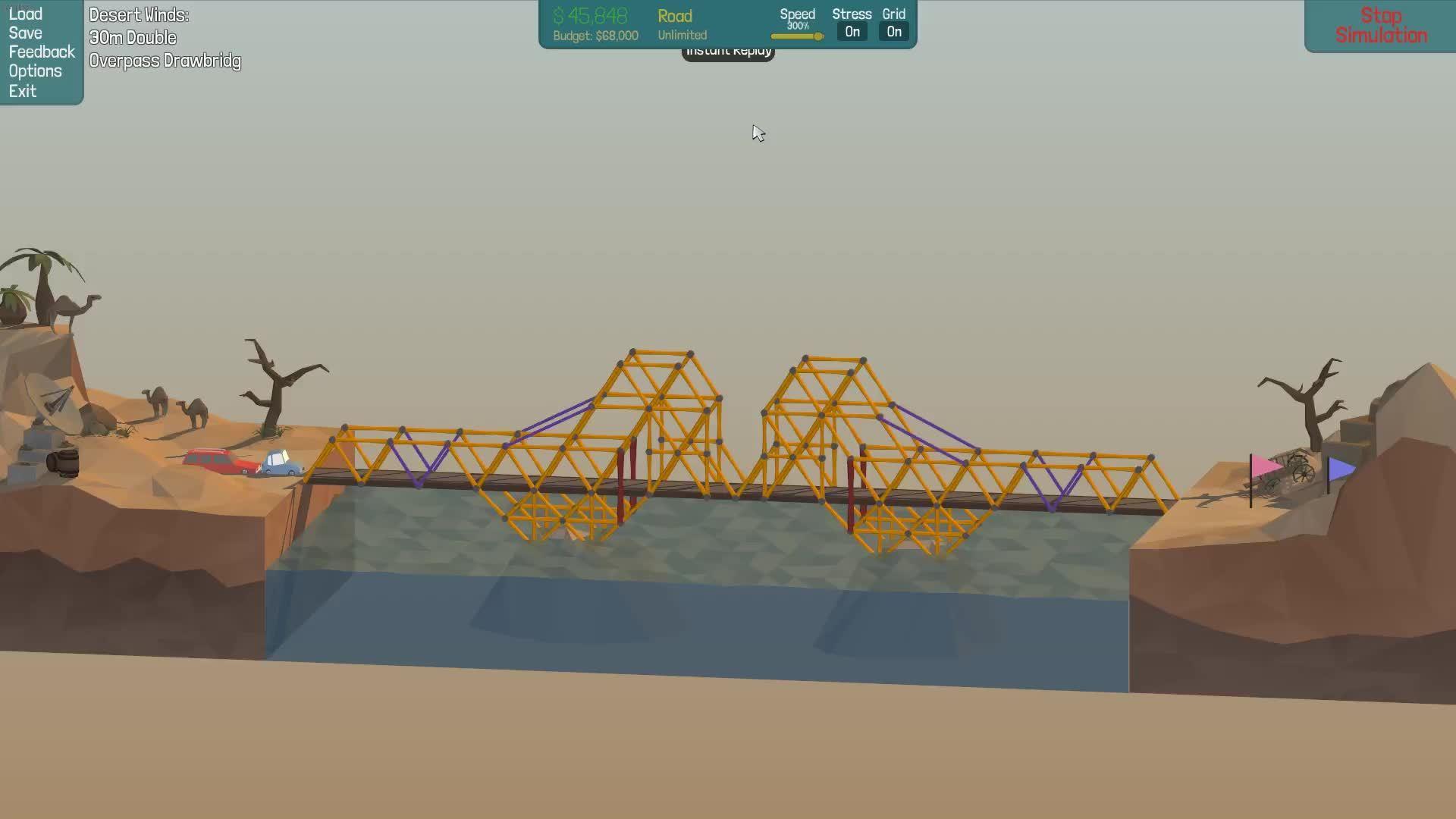 polybridge, [Screenshot/Gif]30m Double Overpass Drawbridge (reddit) GIFs