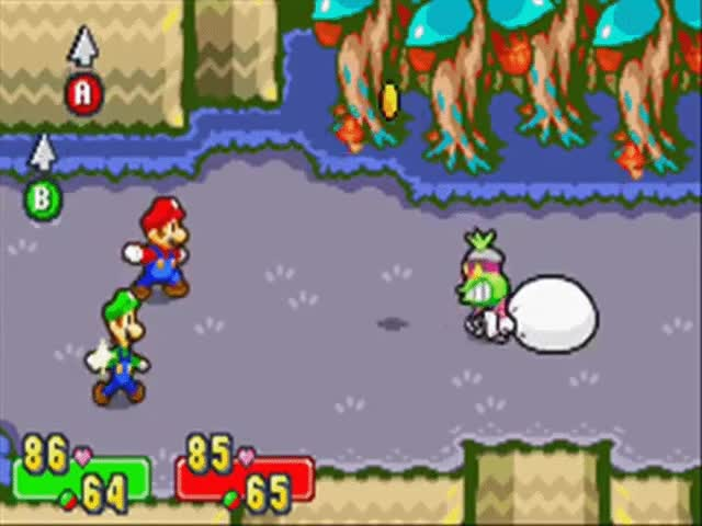 Watch and share Mario & Luigi: Superstar Saga - Bosses Popple Solo (12) GIFs on Gfycat