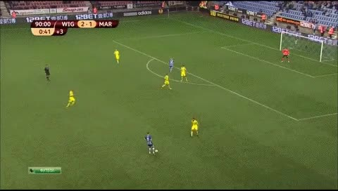 Watch and share Nick Powell. Wigan - Maribor. 03.10.2013 GIFs by fatalali on Gfycat