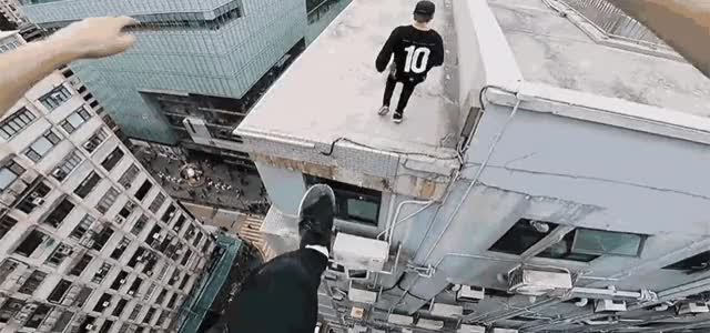Watch Rooftop POV Escape from Hong Kong security! GIF by Ievgen Marchuk (@ievgenmarchuk) on Gfycat. Discover more Escape, HongKong, Rooftop GIFs on Gfycat