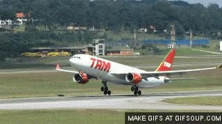 Watch and share TAM A330 Take-off GIFs on Gfycat