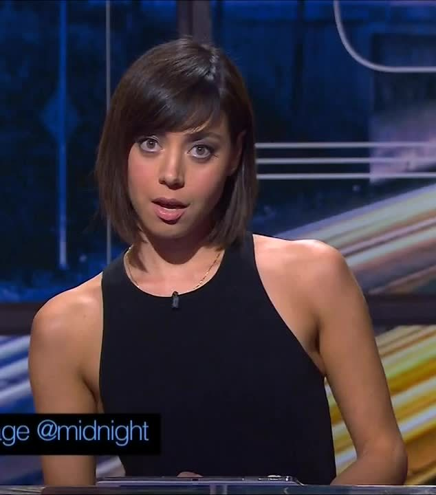 Aubrey Plaza, AubreyPlaza, gentlemanbonersgifs, Aubrey Plaza on @midnight GIFs