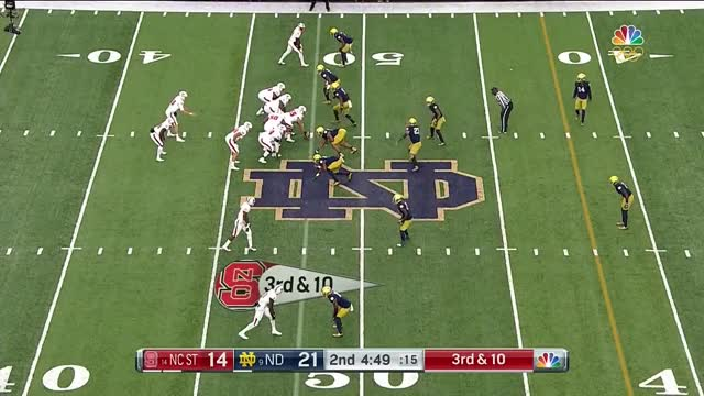 Watch and share NCAA 2017 Week 09 NC State At Notre Dame GIFs on Gfycat