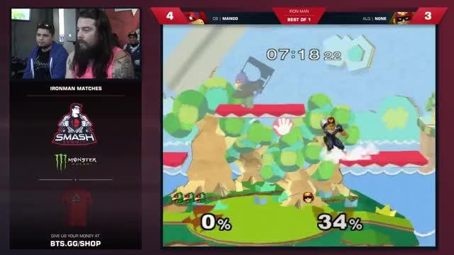 Mang0 vs N0ne - Iron Man Quarterfinals - Smash Summit 6