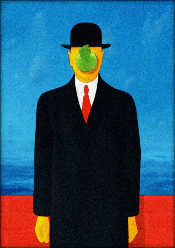Watch and share Animated Paintings Of René Magritte GIFs on Gfycat