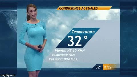 Watch the hottest weather girl gifs GIF on Gfycat. Discover more related GIFs on Gfycat