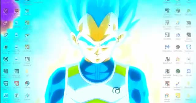 Watch and share Super Saiyan God GIFs and Live Wallpaper GIFs by Steeven Lippert on Gfycat