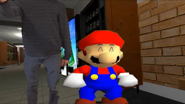 Smg4 If Mario Was In Baldis Basics Gif Find Make Share