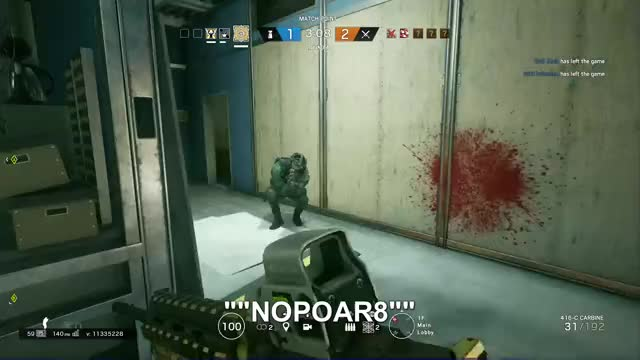 Watch R6NOPOAr8 GIF by Gamer DVR (@xboxdvr) on Gfycat. Discover more NOPO Ar8, TomClancysRainbowSixSiege, xbox, xbox dvr, xbox one GIFs on Gfycat
