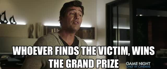 Watch this game night GIF by Game Night Movie (@gamenight) on Gfycat. Discover more action, comedy, game night, gamenight, kyle chandler, movie trailer, movietrailer, trailer, warner bros, wb GIFs on Gfycat