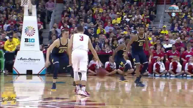 Watch and share Big Ten Tournament GIFs and Duncan Robinson GIFs by Ace Anbender on Gfycat